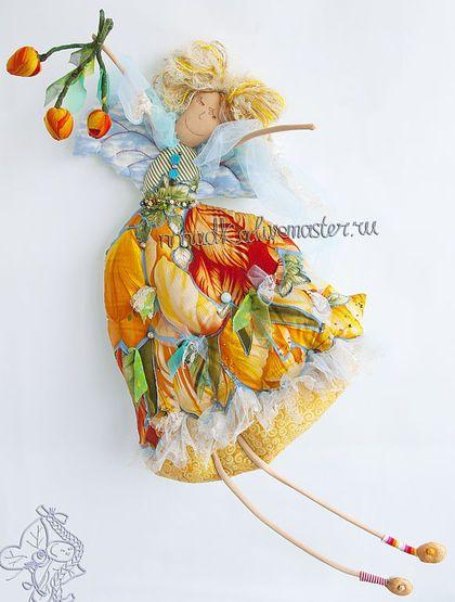 Коллекционные куклы ручной работы. Ярмарка Мастеров - ручная работа Тюльпановые потягушечки. Handmade.