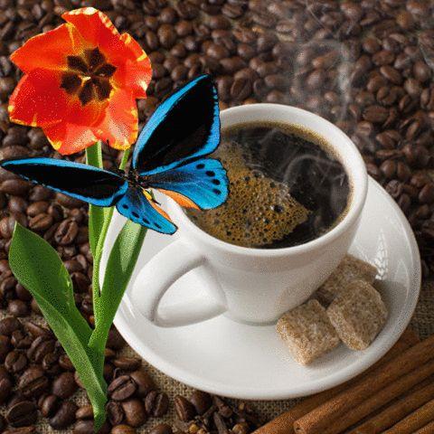 Pensieri di Anna le mie poesie del cuore - Un caffè, per incominciare la giornata , buongiorno a chi riposa, a chi è innamorato a chi si è appena svegliato.  Buon sabato a noi  Ann@