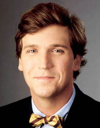 Tucker Carlson is the proud conservative commentator for the Fox News Channel.  What a cutie!