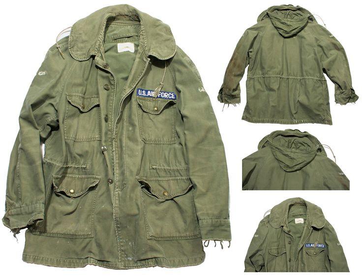 Vintage army parka 1970 s jacket archives pinterest