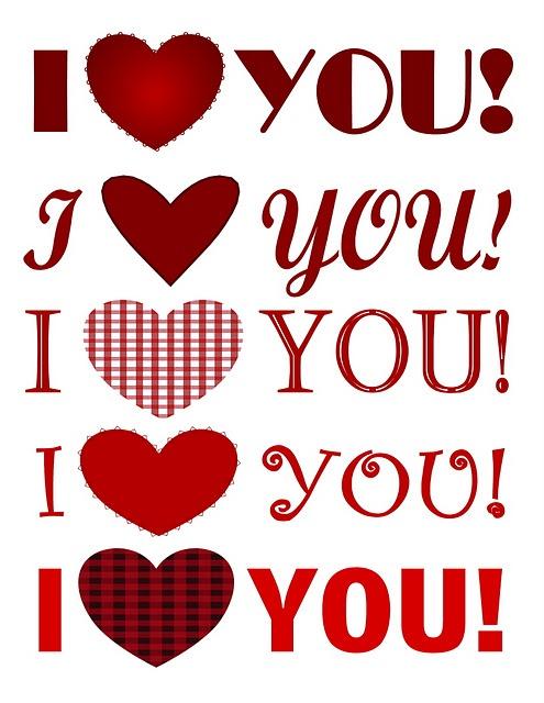Message for my Valentine