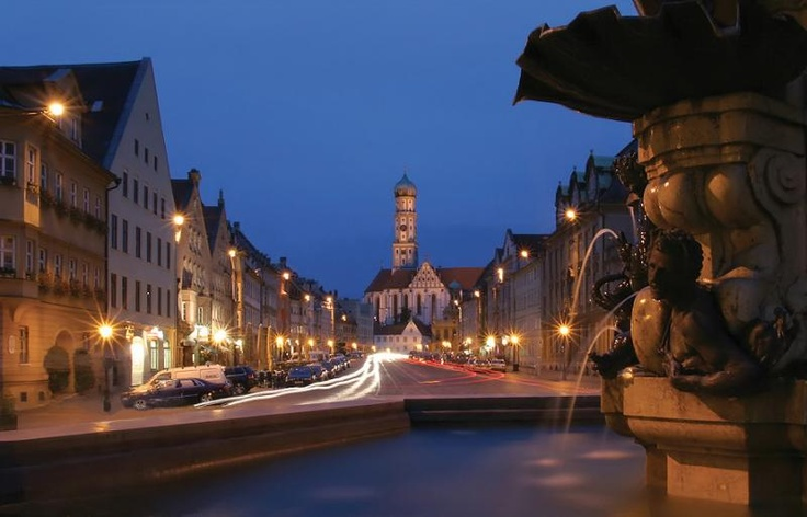 Augsburg, Allemagne. #AILS #cours #allemand.