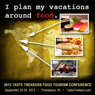 http://tastetrekkers.com -- Taste Trekkers, the nation's first Food Tourism Conference, comes to Providence this September...