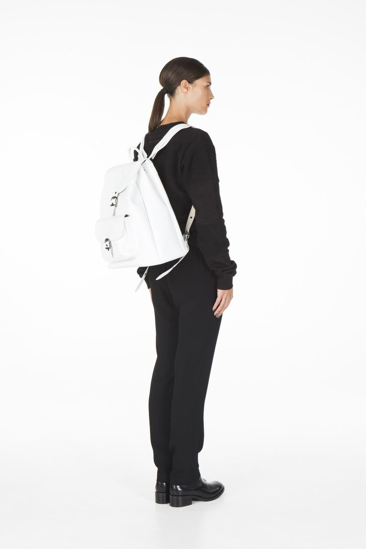 STOTT backpack white via ONAR Studios. Click on the image to see more!