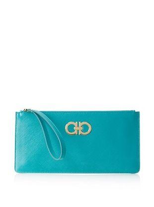 25% OFF Salvatore Ferragamo Women's Wallet, Aqua