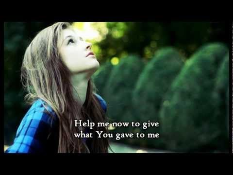 matthew west singing forgiveness | It's the hardest thing to give away