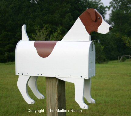 Unique Handmade Jack Russell Terrier Dog Mailbox
