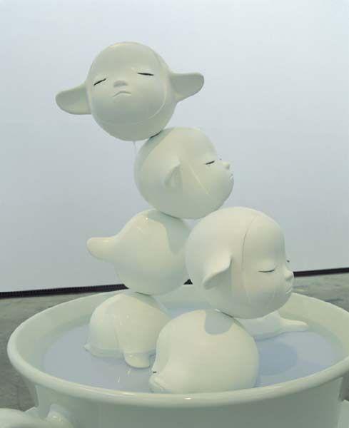 """""""Fountain of Life"""" by Yoshitomo Nara"""
