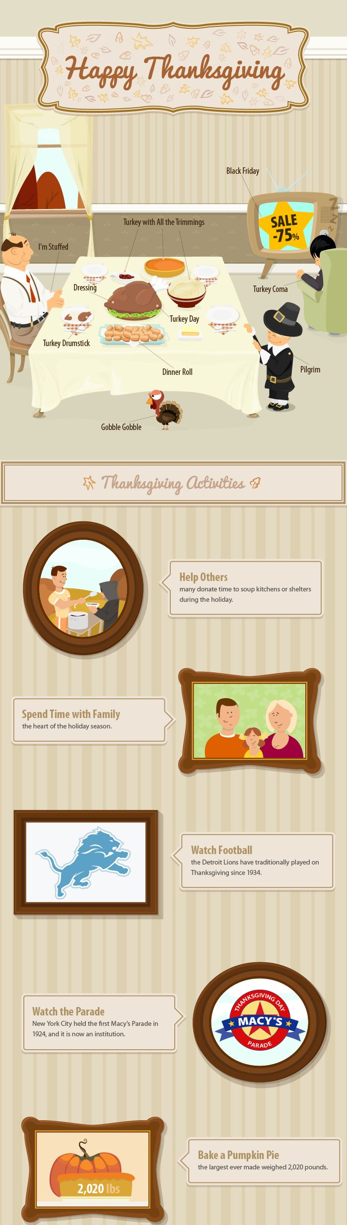 Thanksgiving is the first of the celebrations that kicks off the holiday season including Christmas and New Year. #ThanksGiving #Holiday #Season