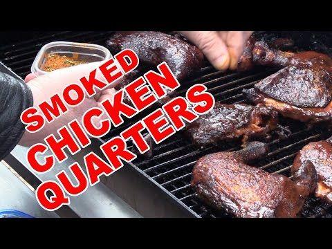 Smoked Chicken Quarters Recipe | BBQ Pit Boys