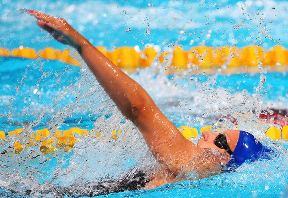 Siobhan-Marie O'Connor of Great Britain competes during the Swimming Women's 200m Individual Medley Final on day ten of the 15th FINA World Championships at Palau Sant Jordi on July 29, 2013 in Barcelona, Spain.
