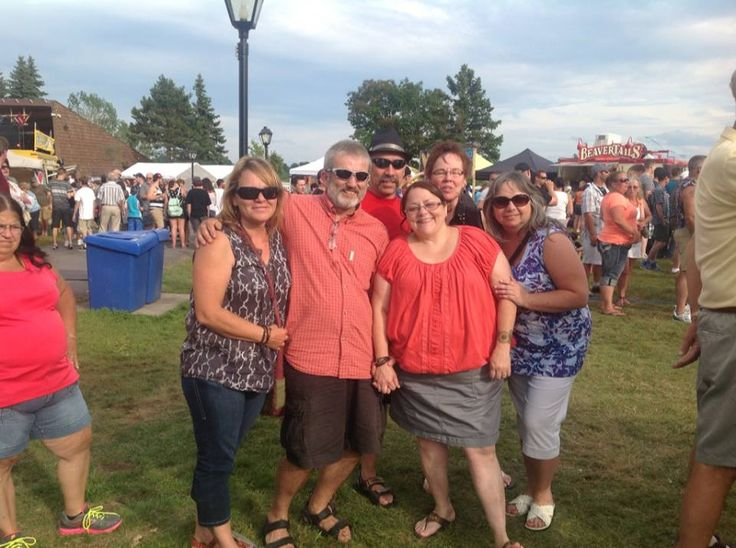 At Ribfest July 27