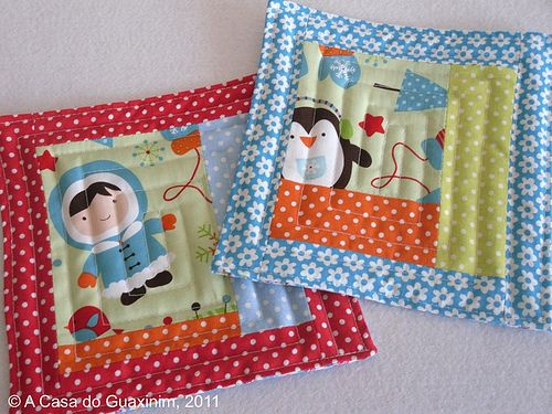 Christmas Mug Rugs :) | Flickr - Photo Sharing!