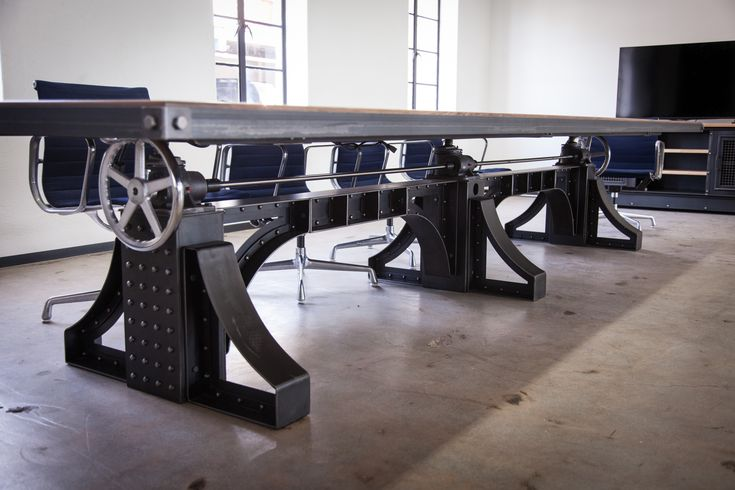 Bronx Conference Table – Vintage Industrial Furniture
