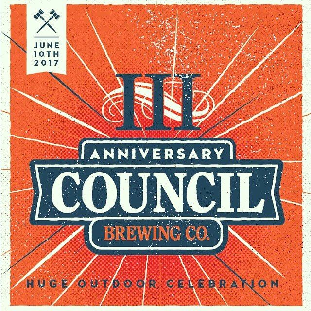 We are ready to party, ARE YOU??? Our 3rd Anniversary Party is TOMORROW. Tickets available online: store.councilbrew.com (and available at the front entrance tomorrow). #councilturns3 #sandiego #sandiegoconnection #sdlocals #sandiegolocals - posted by Council Brewing Co https://www.instagram.com/councilbrewing. See more San Diego Beer at http://sdconnection.com