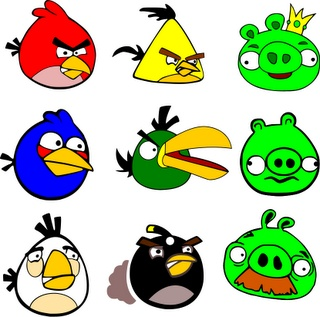 Angry Birds  Free SVG Files
