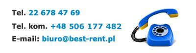 Wypożyczalnia BEST-RENT na dobre zagościła na rynku kilka lat temu. Sukcesywnie…