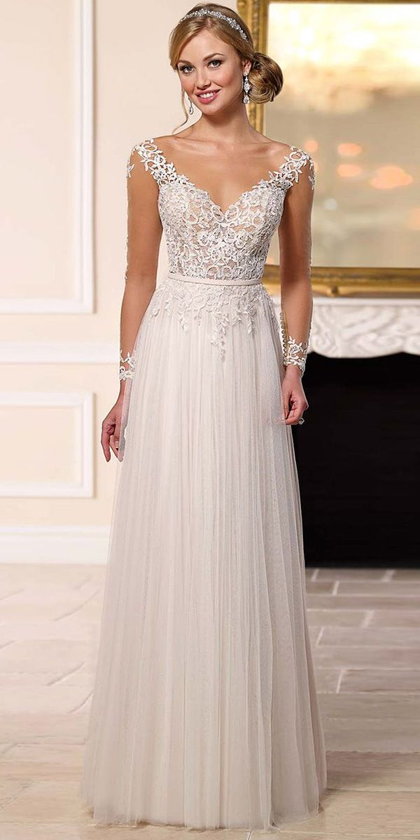 24 Modern Jeweled Wedding Dresses