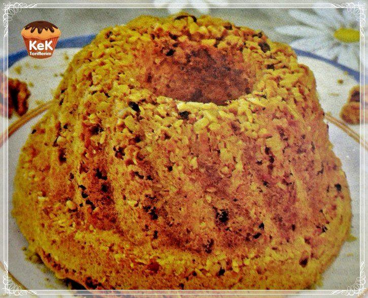 Fındıklı Damla Çikolatalı Portakal Kabuklu Kek