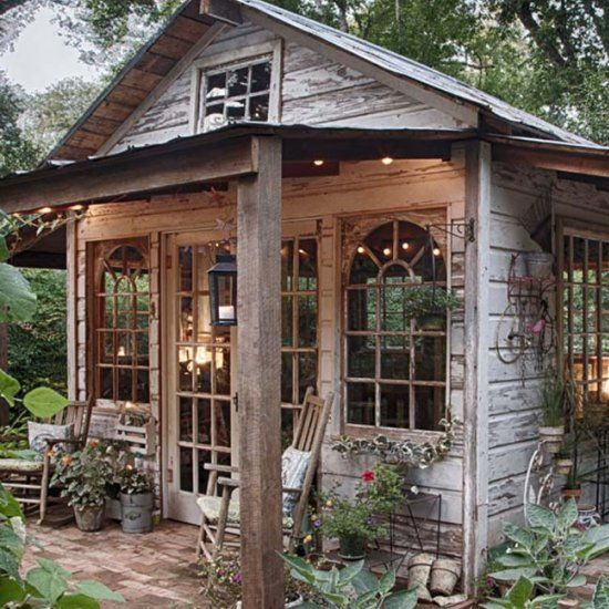 Pinterest Garden Sheds: 40 Simply Amazing Garden Shed Ideas! (Image Courtesy Of