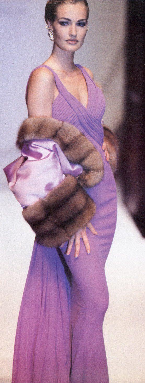 Karen Mulder Dior 1991 | The House of Beccaria#