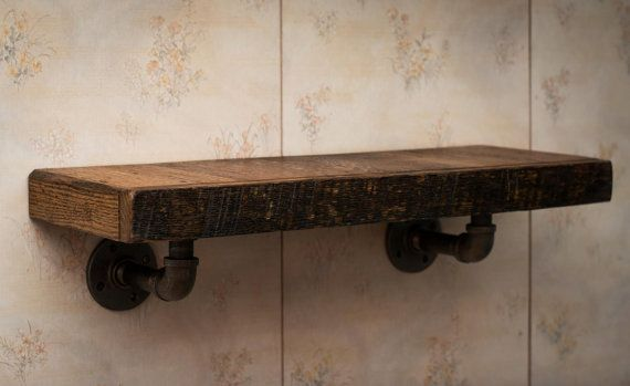 Shelves, Reclaimed Wood Wall Shelf, Mantle, Floating Shelf, Hanging Shelf, Entryway shelf, Rustic shelf