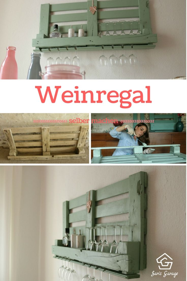 die besten 25 weinregal palette ideen auf pinterest. Black Bedroom Furniture Sets. Home Design Ideas