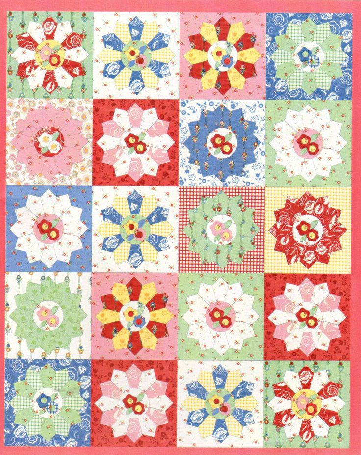dresden plate baby quilt pattern | Dresden Plate Crocheted Throw – Christmas Crafts, Free Knitting