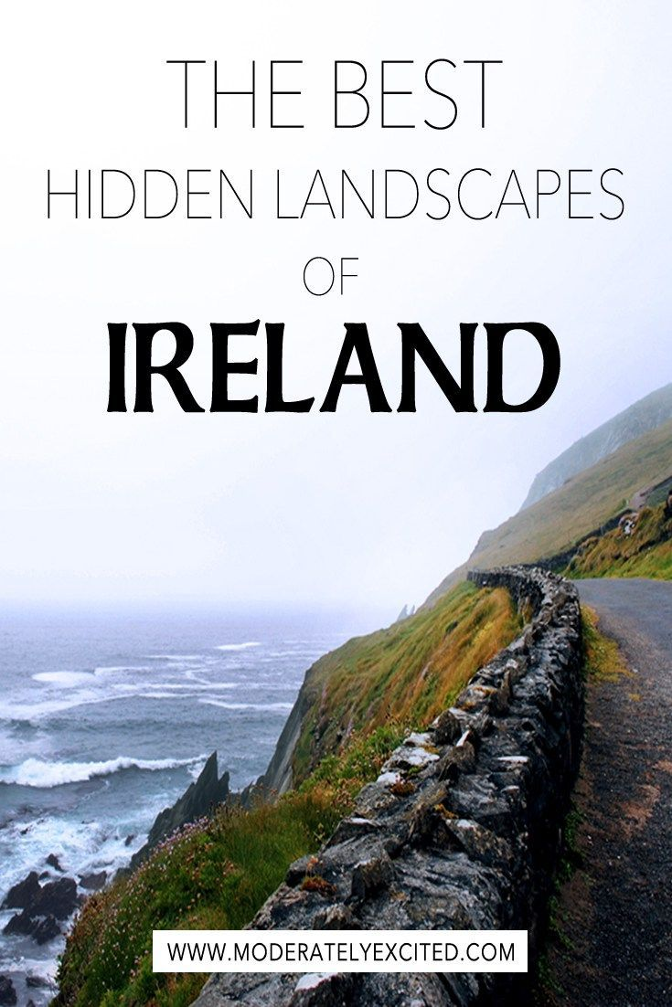 The only guide you need to seeing the hidden landscapes of Ireland - plus how to drive through the Irish countryside!