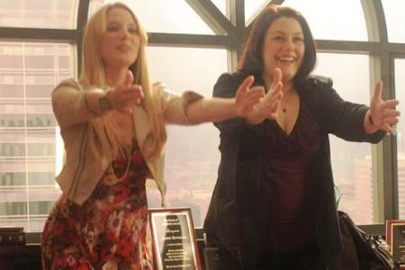 Brooke Elliott and April Bowlby Drop Dead Diva