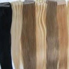 Extensions de cheveux naturels à Fusion froide ou bandes adhésives