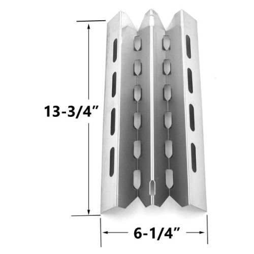 STAINLESS STEEL HEAT PLATE REPLACEMENT FOR SELECT BROIL KING, BROIL-MATE, HUNTINGTON AND STERLING GAS GRILL MODELS Fits Compatible BROIL KING Models : 987944 , 987947 , 9887-14 , 9887-17 , 9887-34 , 9887-37 , 9887-44 , 9887-47 , 9887-84 , 9887-87 , 988714 , 988717 , 988734 , 988737 , 988744 , 988747 , 988784 , 988787 , 9888-14 , 9888-17 , 9888-44 , 9888-47 , Connaisseur 90 , SIGNET 20 , Signet 20B , SIGNET 40 , SIGNET 70 , Signet 70B , Signet 90 , Signet 90B , Sovereign 20 , Sovereign 70…