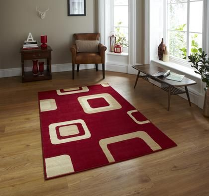 Amazing Shop For High Quality Rugs At Great Prices. Buy The Diamond 2751 Modern Rug    Red At A Great Price And Get Free Fast Delivery.