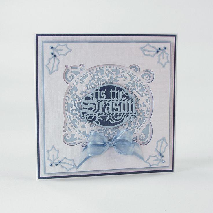 Christmas Frames - Candy Cane Die Set - 1371E