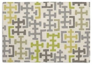 Gray-and-Citron-Modern-Cross-Motif-Custom-Placemats-Set-of-4-midcentury-placemats