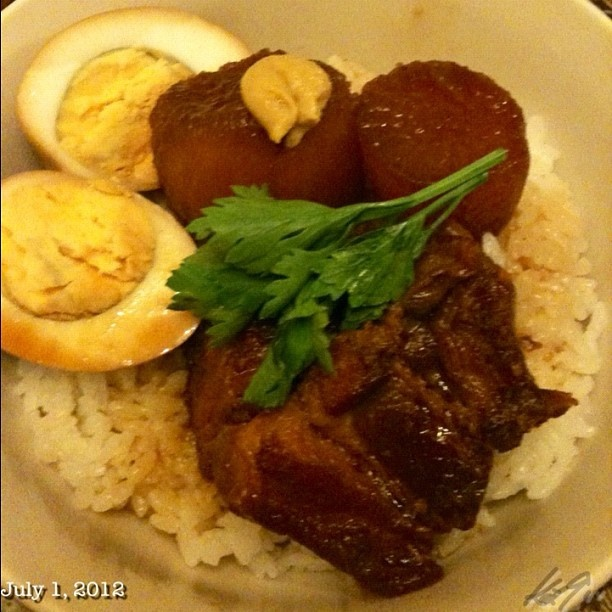 #kakuni #don #dinner #japanese #food #philippines #フィリピン #角煮