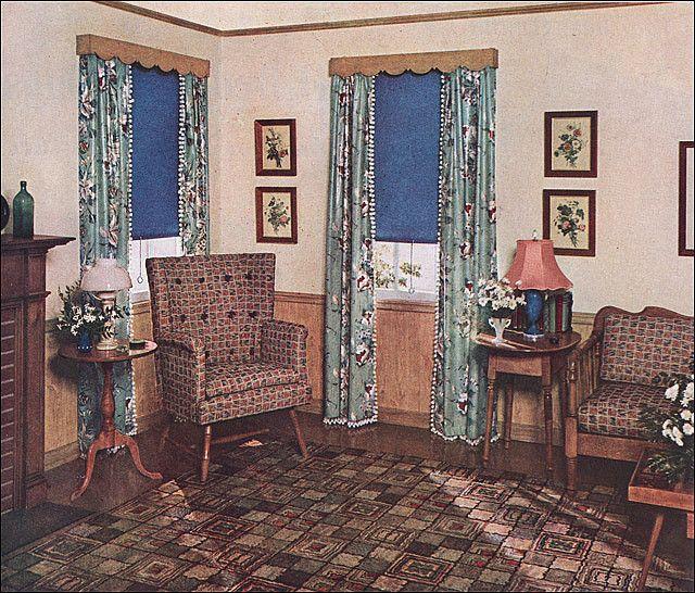 111 Best 1930s Home Decor Images On Pinterest Vintage