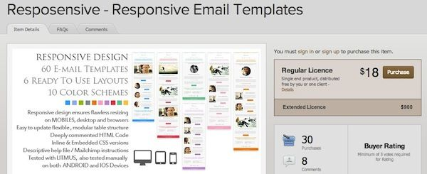 Responsive email template design psd to constant contact responsive email template design psd to constant contact pinterest email template design spiritdancerdesigns Images