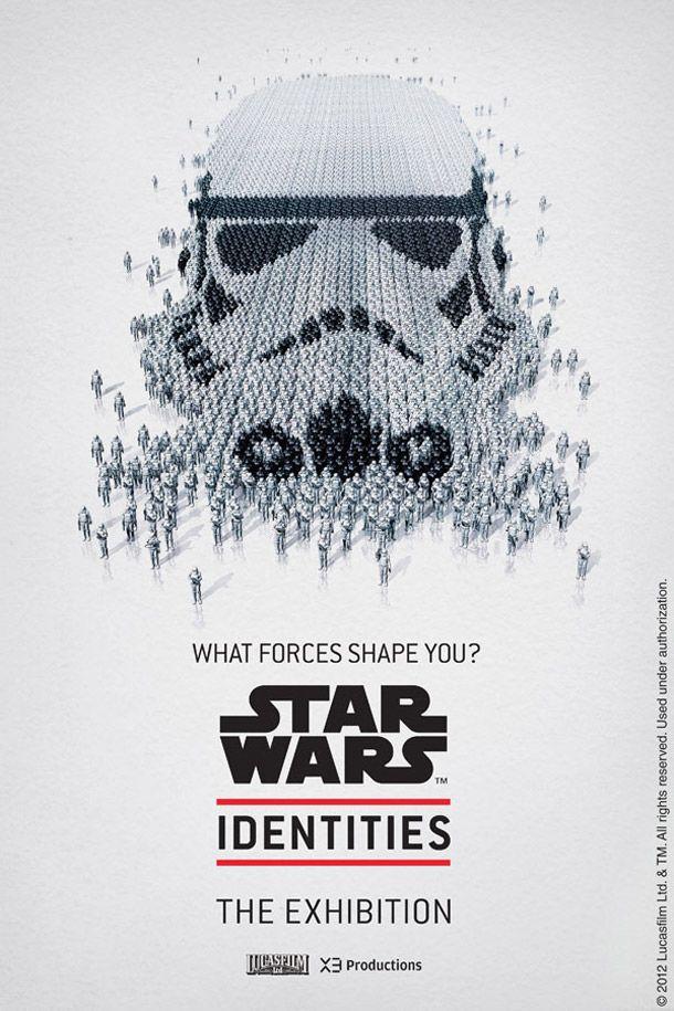 STAR WARS™ IDENTITIES -- Assemblage méticuleux des détails qui composent les personnages des affiches impressionnant