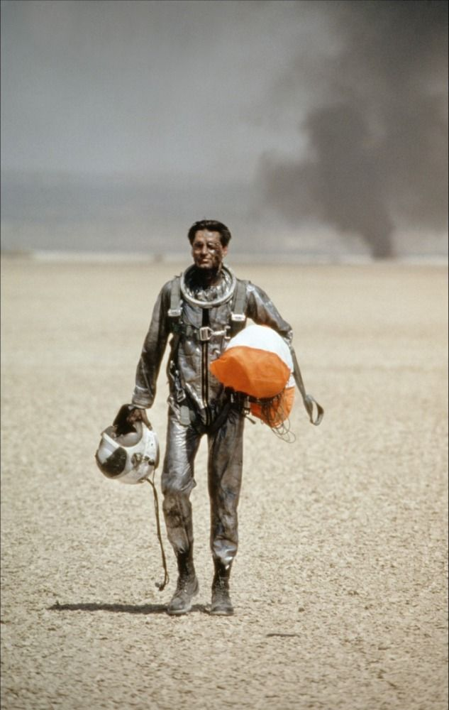Sam Shepard in The Right Stuff / L'Étoffe des Héros (Philip Kaufman, 1983)