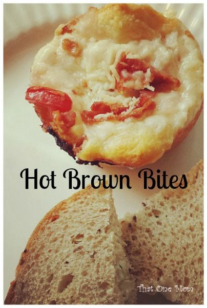 Benedictine Spread...It's Not Just For the Derby! (Hot Brown Bites) www.thatonemom.com