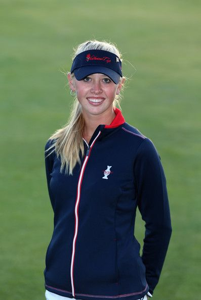 Jessica Korda of the United States poses for a portrait following the announcement of the 2013 Solheim Cup Europe and USA Teams at The Old Course on August 4, 2013 in St Andrews, Scotland. #SC13