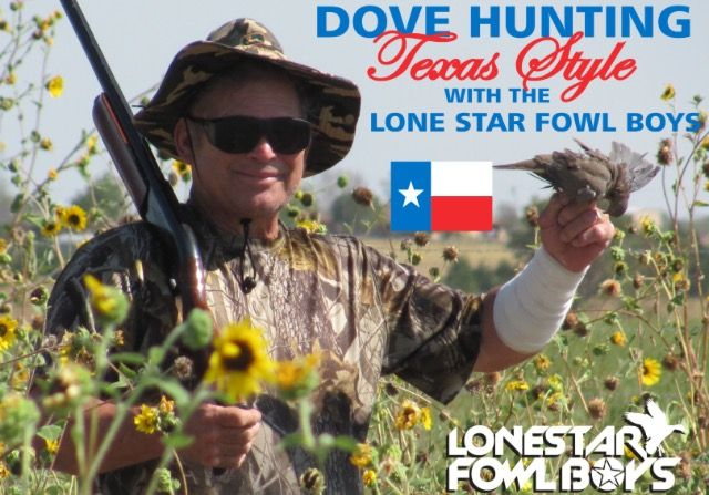 Dove Hunting Texas Style with the Lone Star Fowl Boys Guide Service. Dove Hunting only one hour south of Dallas Fort Worth Texas DFW.