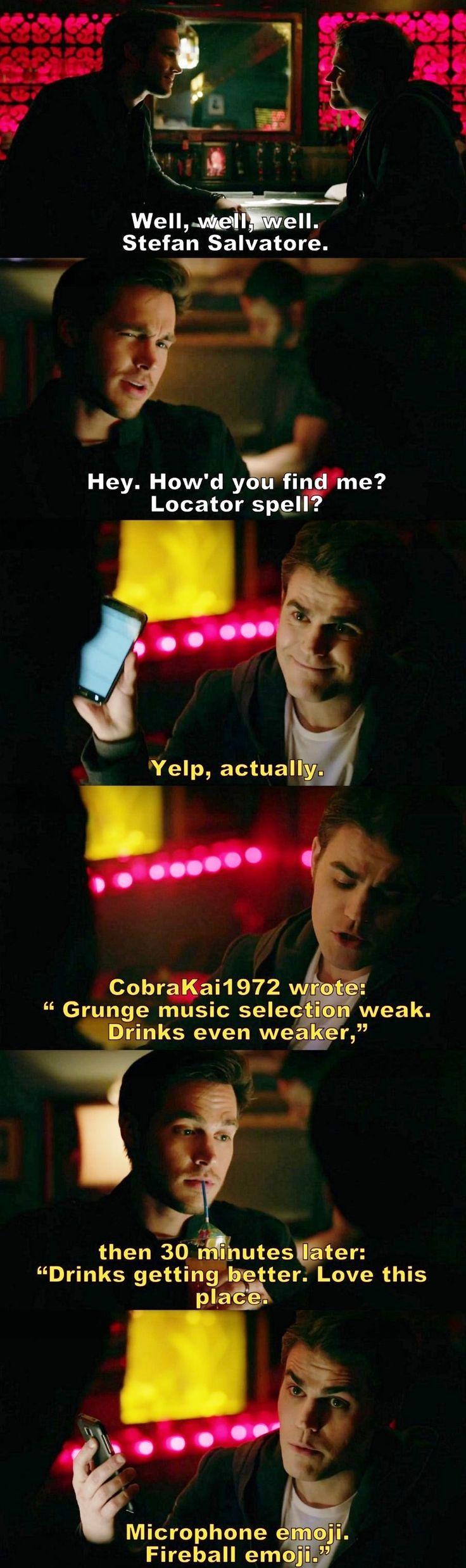 The Vampire Diaries TVD S08E14 - Kai and Stefan.