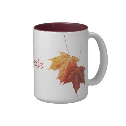 Taza de café con hojas de arce de Canadá.... [+] http://www.zazzle.es/taza_de_canada_de_las_hojas_de_arce-168195025454025489?rf=238420127640601648