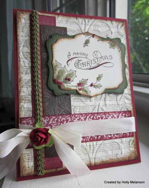 F4A80 ~Vintage Christmas~ by hollerinastamps - Cards and Paper Crafts at Splitcoaststampers
