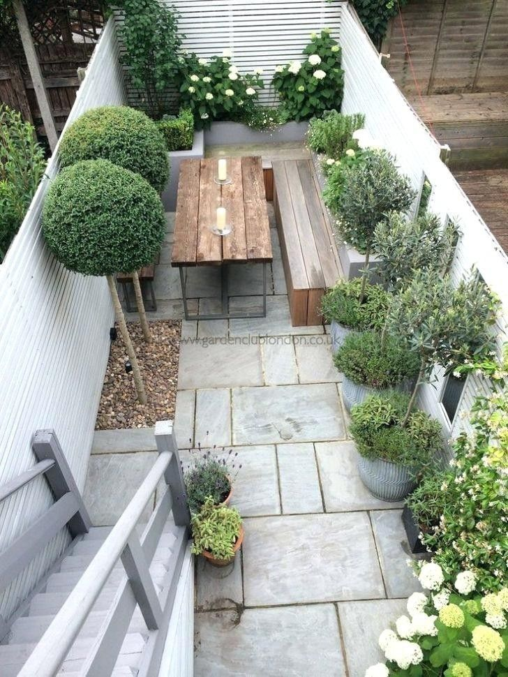 Reihenhaus Garten Ideen Kleine viktorianische Terrasse Front Design – turismoestrat …