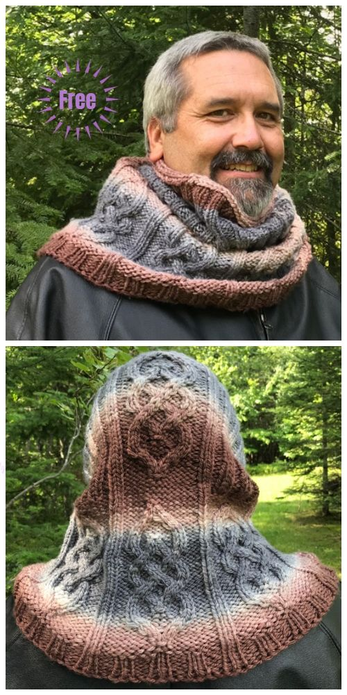Knit Parts Unknown Cowl Free Knitting Pattern en 2018 | Knitting ...