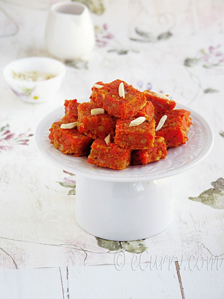 Gajar ka Halwa (Carrot Halwa). YUM. VERY sweet, very rich.