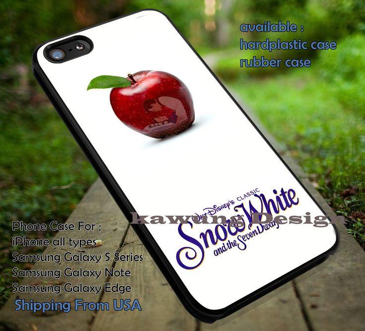 Disney Snow White Logo and Apple iPhone 6s 6 6s  5c 5s Cases Samsung Galaxy s5 s6 Edge  NOTE 5 4 3 #cartoon #disney #animated #SnowWhite dt